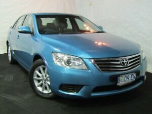 2009 Toyota Aurion GSV40R AT-X Blue 6 Speed Sports Automatic Sedan Derwent Park Glenorchy Area Preview
