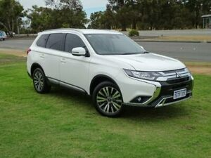 2019 Mitsubishi Outlander ZL MY19 LS AWD White 6 Speed Constant Variable Wagon Wangara Wanneroo Area Preview