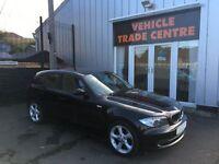 BMW 1 SERIES 2.0 116D SPORT 5d 114 BHP (black) 2009