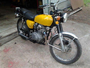 1971 CB350 with tons of parts