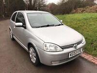Vauxhall Corsa 1.2 i 16v SXi 3dr 69000 MILES+MOT-11-17+VGC
