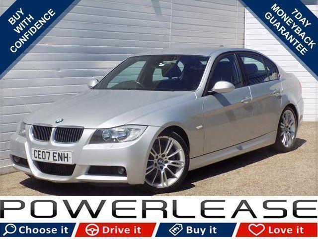 2007 07 BMW 3 SERIES 3.0 330D M SPORT 4D 228 BHP DIESEL