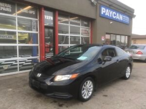 2012 Honda Civic Cpe EX-L | FINANCING AVAILABLE!!!
