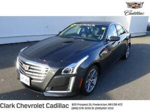 2017 Cadillac CTS Sedan Luxury Collection AWD