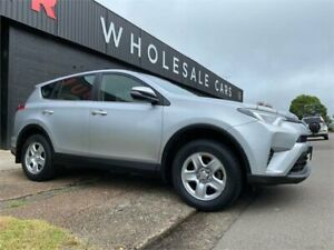 2016 Toyota RAV4 ASA44R GX AWD Silver 6 Speed Sports Automatic Wagon Mayfield West Newcastle Area Preview