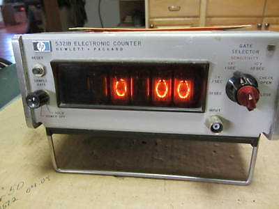 HP5321B 10Mhz Frequency Counter(Nixie Tube)