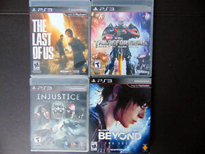 Jeux PS3 PLAYSTATION 3 Games