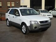 2005 Ford Territory SX TS (4x4) White 4 Speed Auto Seq Sportshift Wagon Brendale Pine Rivers Area Preview