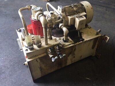 Nachi 2 HP (1.5kW) Complete Hyd. Unit, VDR-1B-1A2-21, UVD-1A-A2-1.5-4-1849A (2)