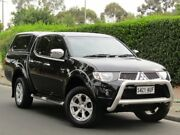 2012 Mitsubishi Triton MN MY12 GLX-R Double Cab Black 5 Speed Manual Utility Thorngate Prospect Area Preview