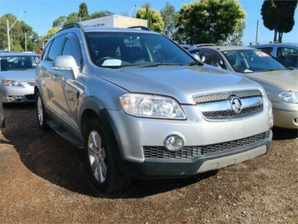 2007 Holden Captiva CG CX AWD Silver 5 Speed Sports Automatic Wagon Minchinbury Blacktown Area Preview