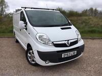 Vauxhall Vivaro 2.0CDTi Sportive LWB 2013 63 PLATE *JUST BEEN SERVICED & MOT'D*