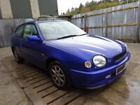 98 Toyota starlet / Corolla 1.3 G6 gearbox (6 speed)