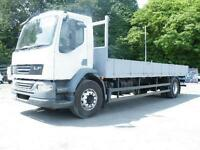 2008 DAF ,Low Mileage, LF 55 18 Ton Dropside/3 mths warranty