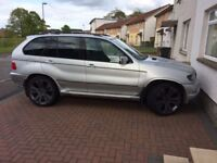 BMW X5 4.4 - LONG MOT NO ADVISORIES- NEW REDUCED PRICE