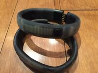 Nike Fuel Band - Pair (one Small, one Med/Large)