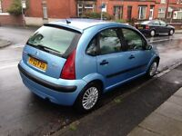 2003 CITROEN C3 1.4 - LOW MILEAGE AND NEW M.O.T