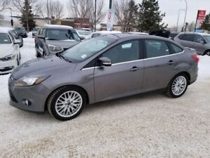 2014 Ford Focus TITANIUM; KEYLESS ENTRY, BACKUP CAM, HEATED SEAT