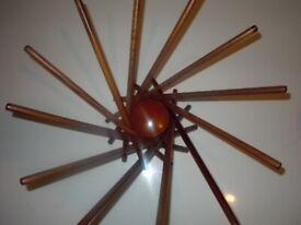 SATELLITE FRUIT BOWL DESIGNER CARLO CONTIN