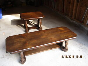 Maple Coffee and End Tables for Sale Peterborough Peterborough Area image 1