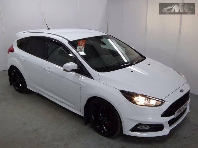 ford focus st 2 tdci white manual diesel 2015