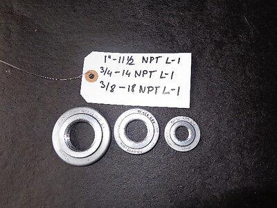 3pcs.npt Ring Thread Gage
