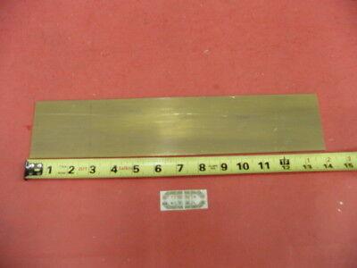 18 X 3 C360 Brass Flat Bar 14 Long Solid .125 Plate Mill Stock H02
