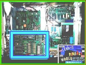▀▄ Williams PInball Driver board READY TO INSTALL solenoid  Driverboard ▀▄