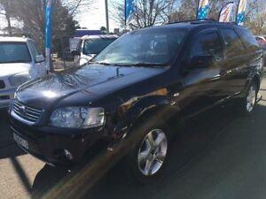 2004 Ford Territory SX Ghia (RWD) Black 4 Speed Auto Seq Sportshift Wagon Campbelltown Campbelltown Area Preview