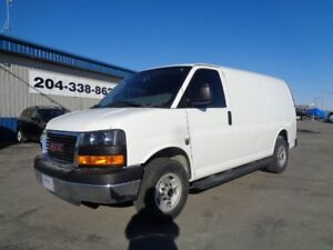 2015 GMC Savana 2500 CARGO VAN 4.8L 8CYL 6SPD AUTO ONLY 22014KMS
