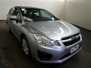 2013 Subaru Impreza MY13 2.0I (AWD) Silver Continuous Variable Hatchback Albion Brimbank Area Preview