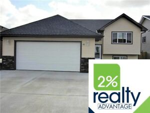 Bi-Level with Front Attached Garage - Listed By 2% Realty Inc.
