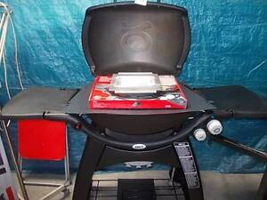 WEBER FAMILY Q-3100 *NEW BBQ in box complete with trolley. Sydenham Marrickville Area Preview
