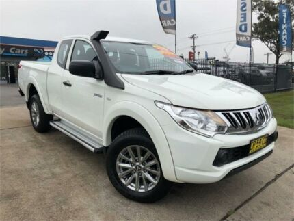 2015 Mitsubishi Triton MQ MY16 GLX White Manual Cab Chassis Mulgrave Hawkesbury Area Preview