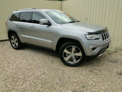 2014 Jeep Grand Cherokee WK MY2014 Limited Silver Semi Auto Wagon