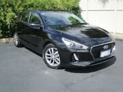 2017 Hyundai i30 PD MY18 Active Phantom Black 6 Speed Sports Automatic Hatchback Devonport Devonport Area Preview
