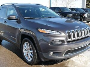 2016 Jeep Cherokee Limited**4x4**Heated Front Power Seats**Heate