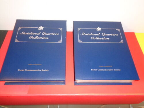 Statehood Quarter Collection Vol. I & II Postal Commemorative Society 50 Coins