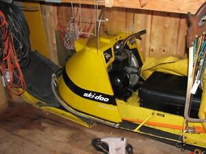 Great condition 1967 SkiDoo Olympique 250 w/ running parts sled