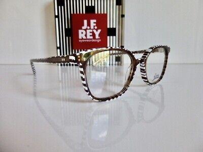 Originale Kunststoffbrille, Korrektionsfassung, Petite JF Rey PA059 9010