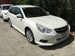 2012 Subaru Liberty B5 MY12 2.5i Lineartronic AWD White 6 Speed Constant Variable Wagon Murarrie Brisbane South East Preview