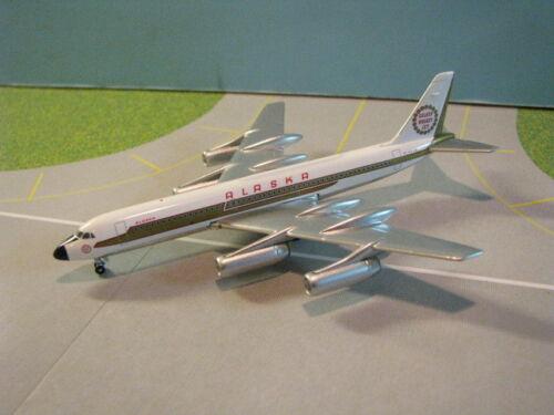 "GEMINI JETS ALASKA AIRLINES ""GOLDEN NUGGETT"" CV-990 1:400 SCALE DIECAST MODEL"