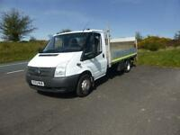 FORD TRANSIT 350 13FT6 ALLOY DROPSIDE & TAILIFT 125BHP