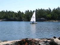 Laser Sailboat For RENT-