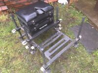 Daiwa 75sb seat box with footplate