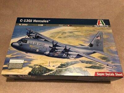 ITALERI C-130J HERCULES MODEL 2643 1:48 SUPER DECAL SHEET ITALIAN BRITISH