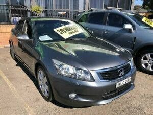2008 Honda Accord 8th Gen V6 Luxury Charcoal Sports Automatic Sedan Lidcombe Auburn Area Preview