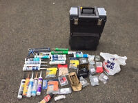 Stanley Rolling case + Various Screws + Sealants