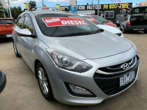 2014 Hyundai i30 GD Active Tourer Silver 6 Speed Manual Wagon