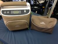 *USED* Philips continuous flow portable oxygen concentrator